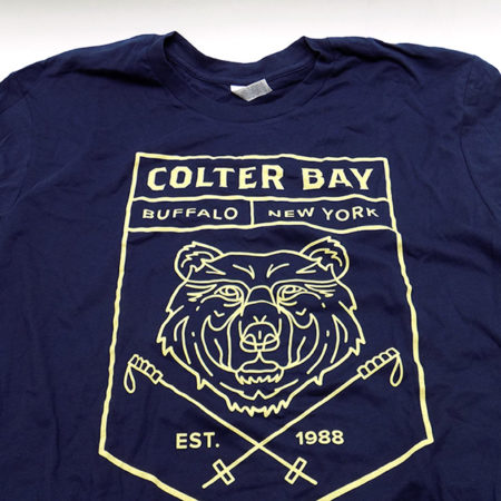 Colter Bay Men's Short Sleeve T-Shirt, Colter Bay Men's Blue T-Shirt, Colter Bay Mens T, Colter Bay Apparel