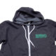 Brennan's Bowery Unisex Zip-Up Hoodie, Buffalo Food and Drink Apparel